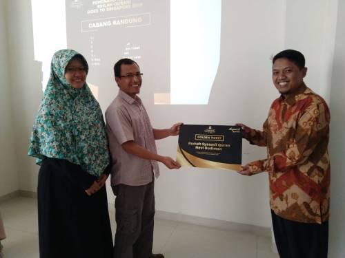 Reward Syaamil Rihlah Qur'ani Singapore 2019
